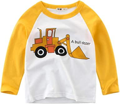 K-youth Camiseta de Manga Larga para Niños 18 Meses a 7 Años Blusas y Camisas Niña Tops: Amazon.es: Ropa y accesorios
