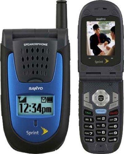 Sanyo SCP-7000  Rugged Phone, Blue