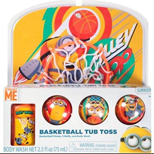 Toss Bath (Despicable Me Basketball Tub Toss)