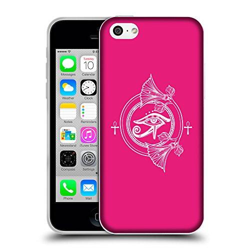 GoGoMobile Coque de Protection TPU Silicone Case pour // Q09940616 Religion 34 Rose pétant // Apple iPhone 5C