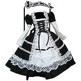 Partiss 1/3 BJD SD Doll Clothes Lovely Girls Lolita Dress,1/3,Black