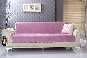 Amazon Com Chiara Rose Anti Slip Armless 1 Piece Sofa