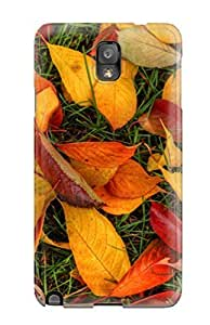 CaseyKBrown Fashion Protective Autumn Leaves Case Cover For Galaxy Note 3