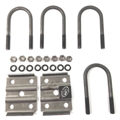 "Southwest Wheel Trailer Axle 2 3/8"" Round U-Bolt Kit"