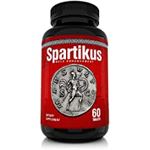 Spartikus All Natural Male Enhancement Sex Pills – Time, Stamina, Girth and Testosterone Booster for Men Boostultimate Pill - Gain Erections Top Male Enhancer Performance Increase (60 Tablets)