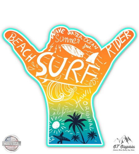 GT Graphics Surf Shaka - 3