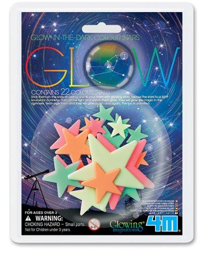 4M Glow Color Stars 22 Piece