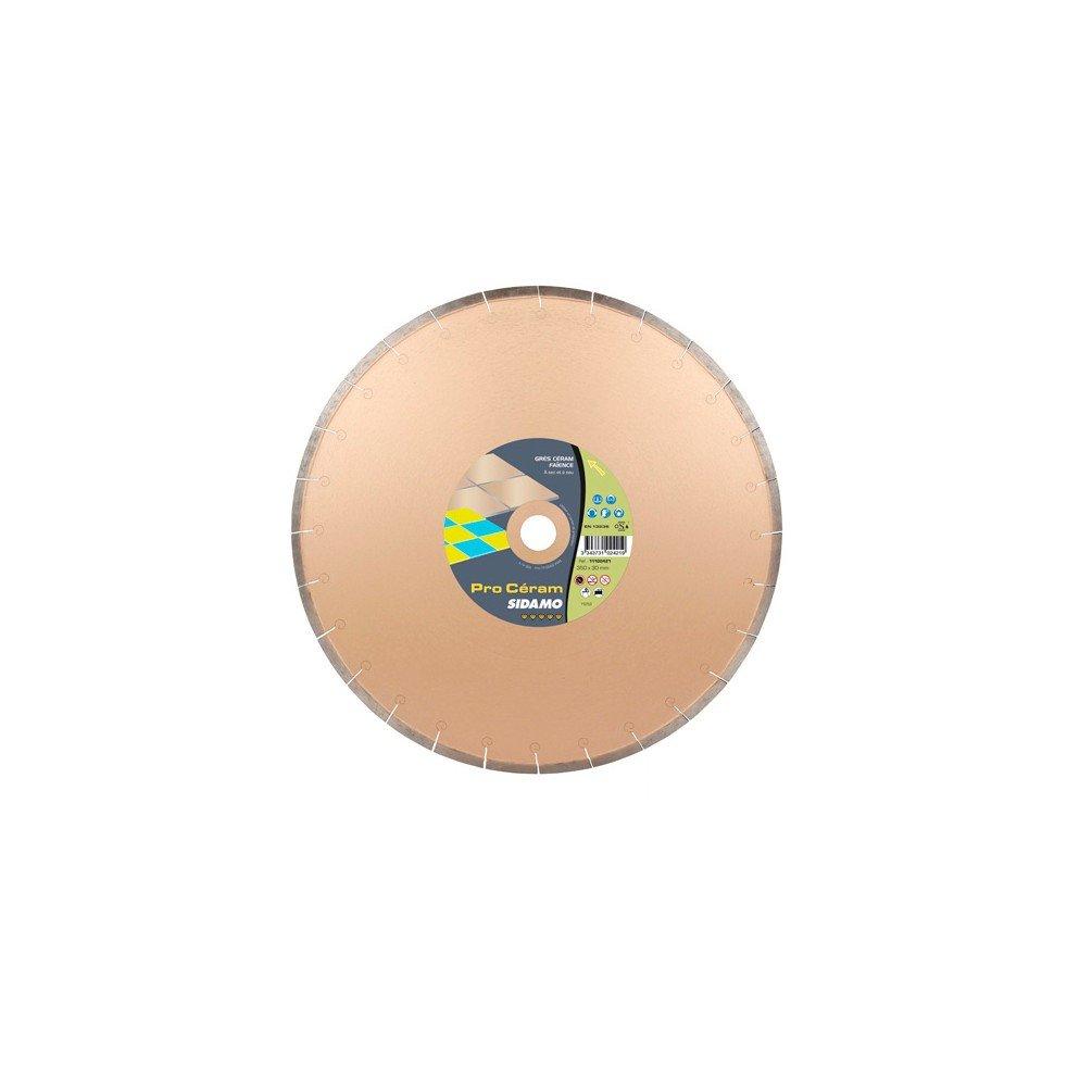 Sidamo–Festplatte Diamant Pro Ceram D.350x 30–25,4–22,23x 8x EPH. 2,4mm–Fliesen/Steingut/Steingut–11102421