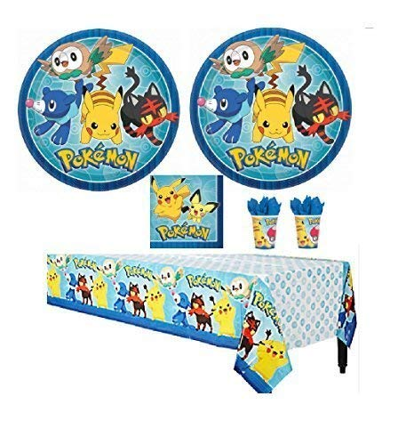 Pokemon Party Bundles for 16 Guests