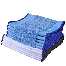 KeePow Microfiber Mopping Cloths 5 wet + 5 dry for Braava 380 380t 320 Mint 4200 4205 5200 5200C Robot