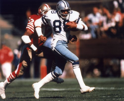 - DREW PEARSON DALLAS COWBOYS 8X10 SPORTS ACTION PHOTO (H)