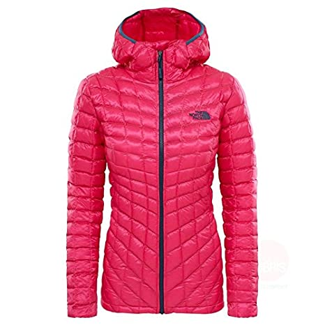 9fdeeacd1a The North Face Water Resistant Thermoball Women s Outdoor Hooded Jacket  available in Petticoat Pink - X