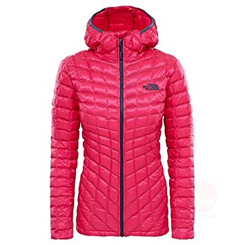 b6e8ec86b50a The North Face Water Resistant Thermoball Women s Outdoor Hooded Jacket  available in Petticoat Pink - X