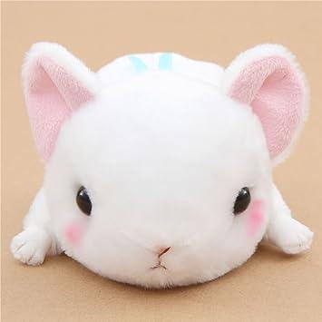Pica pika kawaii blanco muñeco de peluche Kyun To Naki Usagi Nenne de Japón