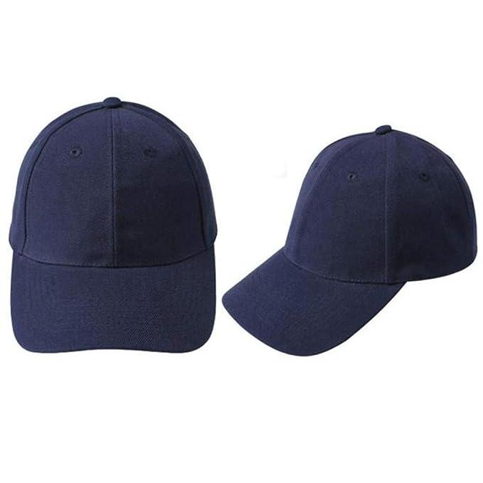 Absolute Gorras Béisbol Sombrero en Blanco Sombrero Ajustable de Color Sólido (Armada): Amazon.es: Ropa y accesorios