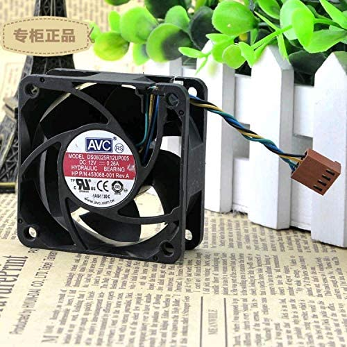 Original FOR AVC 6025 12V 0.26A four-wire PWM speed control DS06025R12UP005 cooling fan