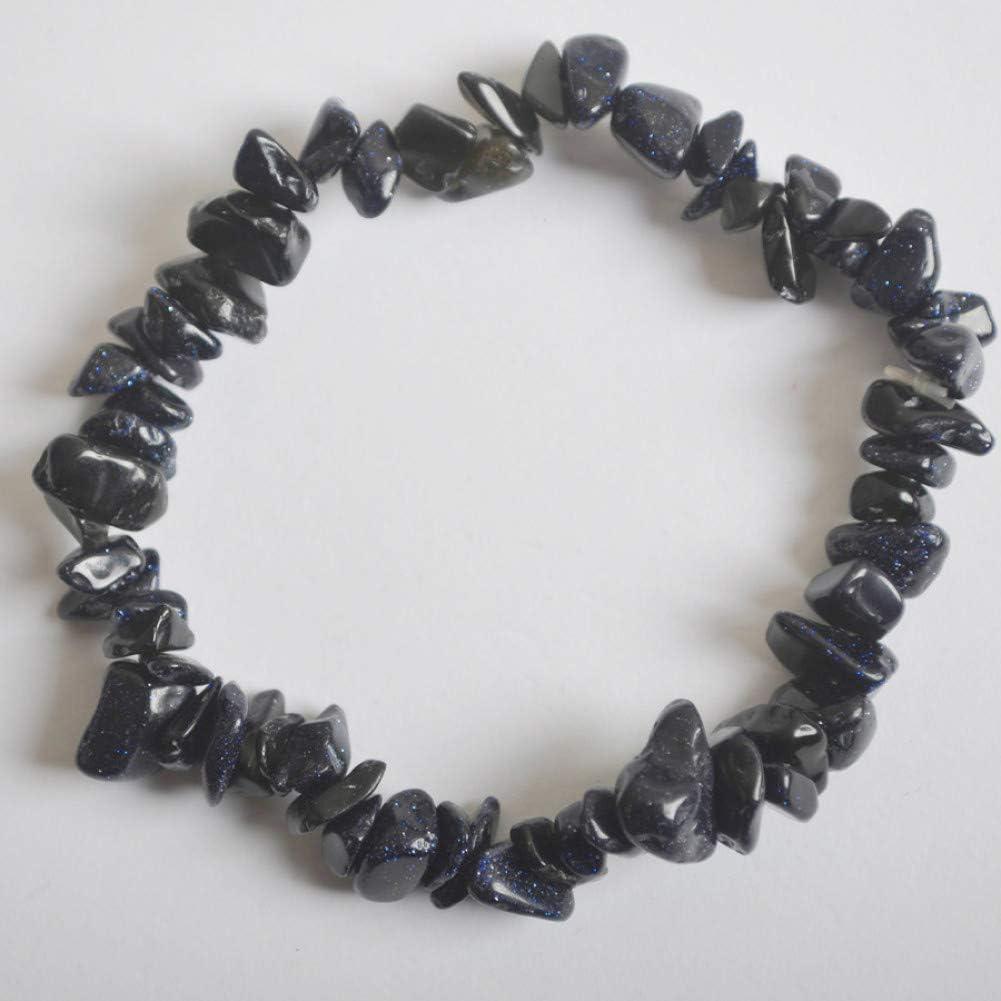 IFVCS Pulsera De Bodhinatural Mixed Stone Chip Beads Tourmaline GarnetJewelry Stretch Bracelet