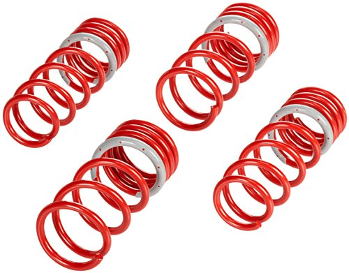 Tanabe TNF063 NF210 Lowering Spring with Lowering Height 1.2/1.2 for 2003-2007 Nissan 350Z Z33 (Tanabe Sustec Nf210 Lowering Springs)