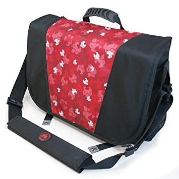 Sumo Sumo Laptop Mensajero Bag- 16 pulgadas PC / 17-Inch Mac (Red