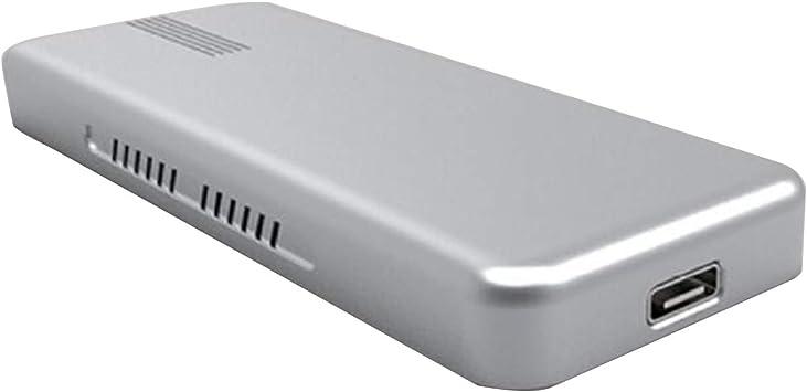 JMT USB 3,1 a m2 SATA SSD móvil Disco Duro Caja Adaptador ...