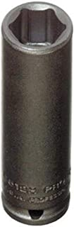 "product image for Stanley Proto J6520H 1/4"" Drive Deep Impact Socket, 5/8"", 6 Point"