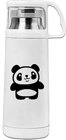 Starbks Dessin Animé De Panda Géant En Acier Inoxydable