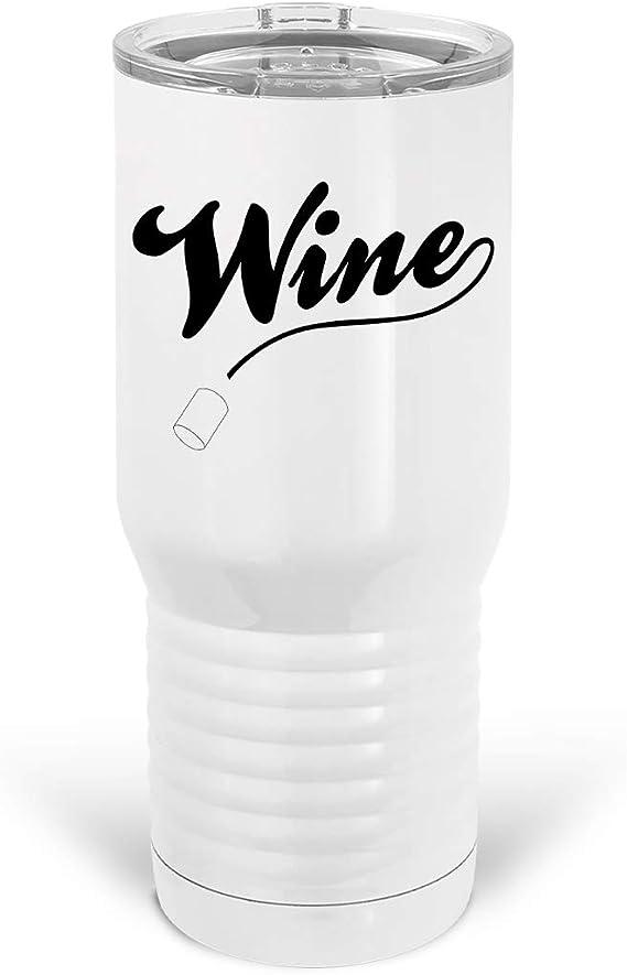 Tenacitee Wine Metal Tumbler