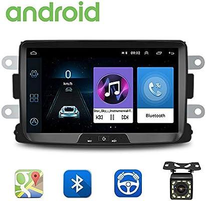 Radio de Coche Android para Renault Dacia GPS CAMECHO Pantalla ...