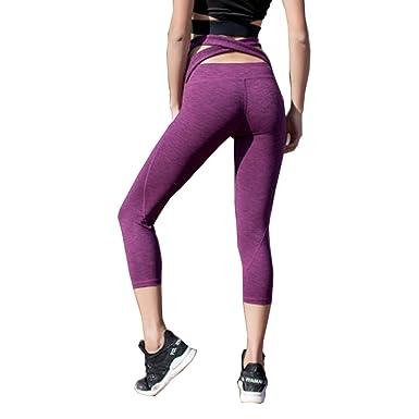 Dotbuy Pantalon de Yoga 9b73ad4dea5
