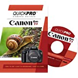 Canon T3 Instructional DVD by QuickPro Camera Guides