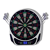 Sdcvopl Dartboard Electronic Dartboard Ultra Thin Spider for Increased Scoring Area Free Floating Segments Locking Segment Holes for Fewer Bounceouts Automatic Scoring