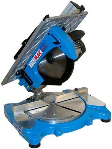 Promac – Sierra ingletadora con mesa superior D. 305 mm 1300 W 230 ...