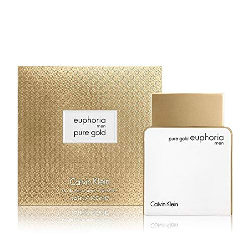 CK Euphoria Men pure Gold Eau De Parfum Spray 3.4 OZ/100 ml