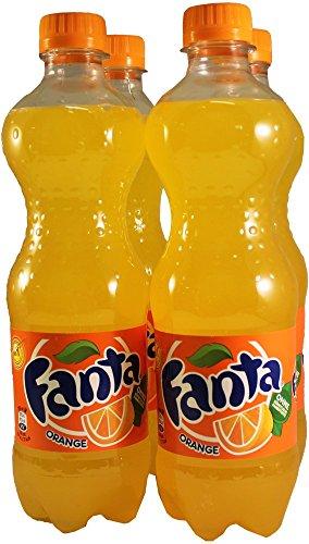 Original Orange Fanta (European Import) - (4 x 0.5L Bottles) European Imports