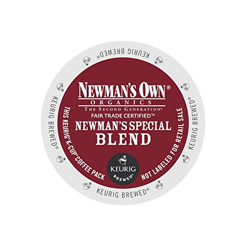 Newman's Own Organics K-Cup Portion Pack for Keurig K-Cup Brewers, Special Blend (Pack of 96) (Packaging may vary)