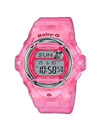 Casio BG169R-4E Baby-G Women's Watch Pink 42.6mm Resin