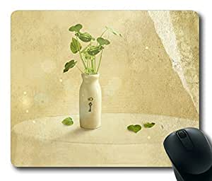 Hold the Breath of the Vase Life Rectangle mouse pad by Custom Service Your Best Choice by icecream design