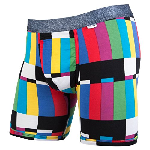 MyPakage Weekend Boxer Brief,Multi-color,Large