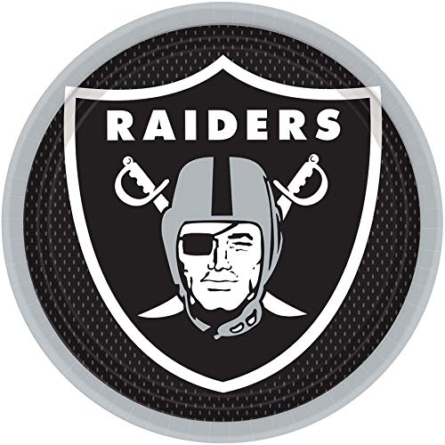 Amscan Oakland Raiders NFL Football 9