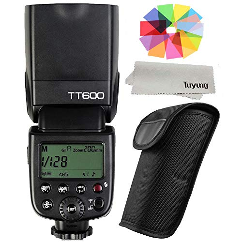 - Godox TT600 2.4G Wireless GN60 Master Slave Camera Flash Speedlite for Canon Nikon Pentax Olympus Fujifilm