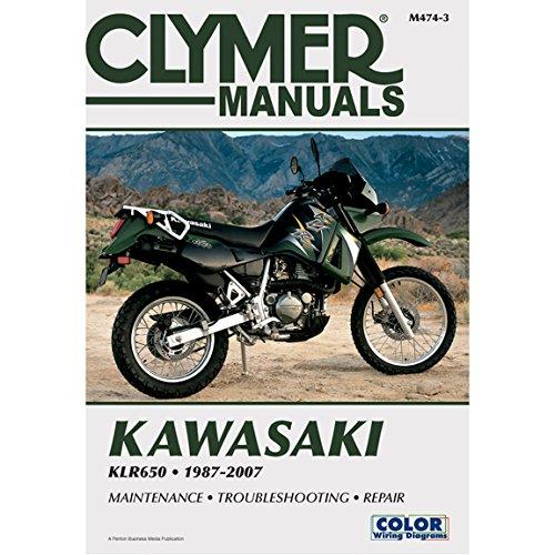 (87-07 KAWASAKI KLR650: Clymer Service Manual )
