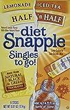 Diet SNAPPLE HALF n HALF Soft Drink Mix 6 Sticks In Each Box (4 Pack) ...amtc