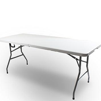 Campingtisch Gartentisch.Bituxx Campingtisch Gartentisch Balkontisch Klapptisch Kaffeetisch Reisetisch Tisch 180 X 74 X 73 Cm