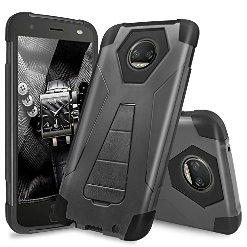 Moto Z2 Force Case, Moto Z2 Play Case, TJS Dual...