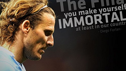 054 Diego Forlan 25x14 inch Silk Poster Aka Wallpaper Wall Decor By NeuHorris