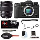 Fujifilm X-T2 Camera (Body) + XF 18-135mm f/3.5-5.6 R LM OIS WR Zoom Lens Bundle + Focus Camera Accessories