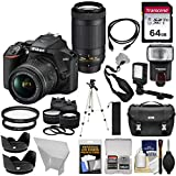 Nikon D3500 Digital SLR Camera & 18-55mm VR & 70-300mm DX AF-P...