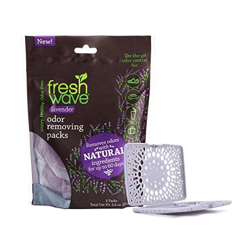 Fresh Wave Lavender Odor Removing Packs + FREE Fresh Pod Case