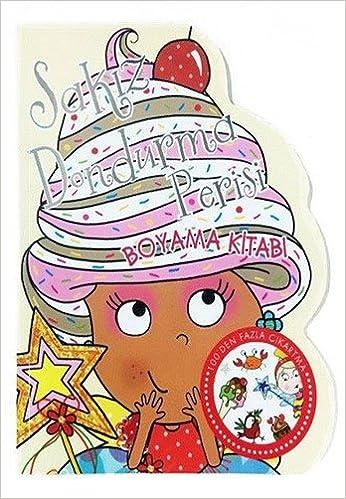 Sakiz Dondurma Perisi Boyama Kitabi 9786050940503 Amazoncom Books