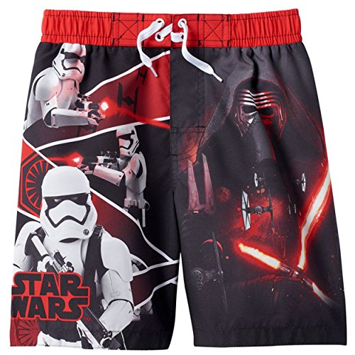 Star Wars Boys Swim Trunks Swimwear (5/6, Star Wars Black)